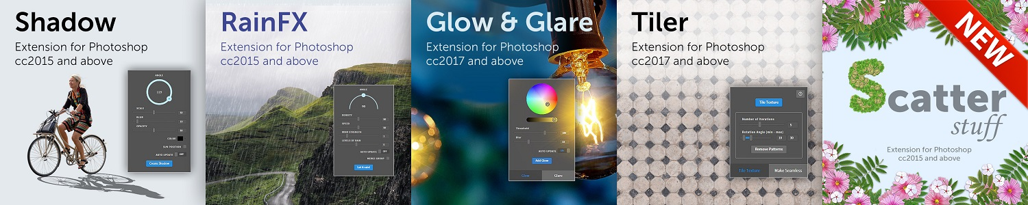 Extension for Photoshop
