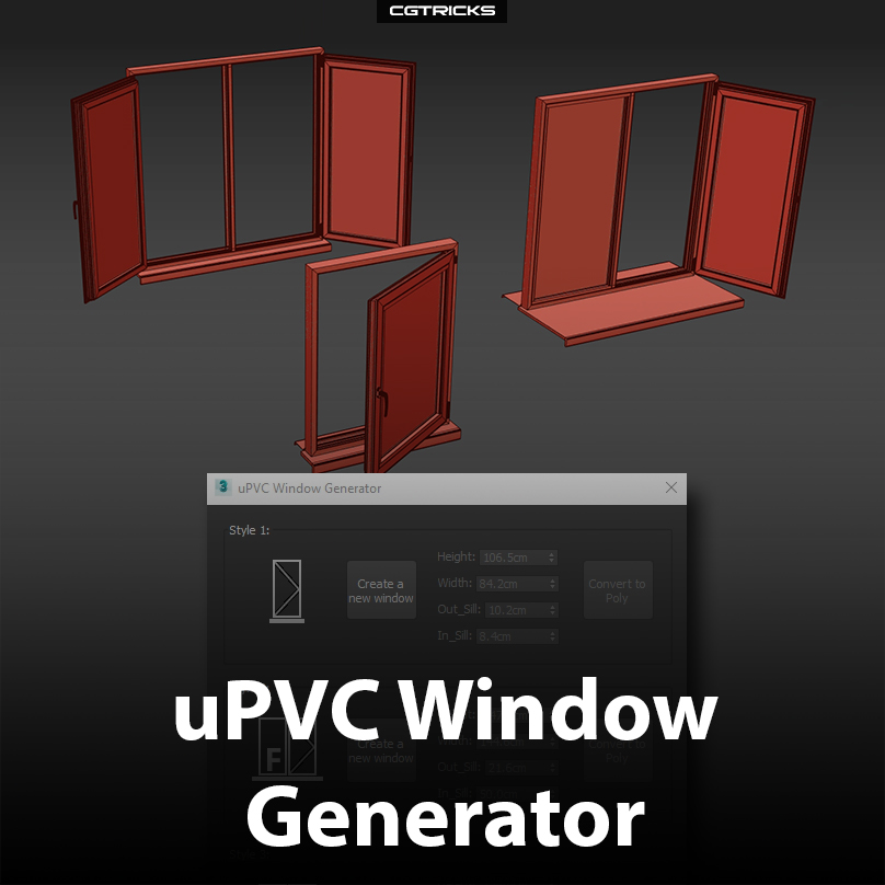 uPVC Window Generator